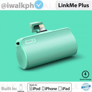8. iWalk LinkMe Plus Portable Powerbank Charger for iPhone