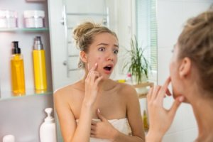 Look for Acne-Fighting Ingredients Like Salicylic Acid to Treat the Woes of Oily Skin