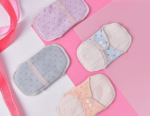 7. 140mm Feminine Women Reusable Washable Cotton Cloth Menstrual Mama Pad